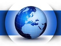 构思设计地球世界 向量例证