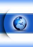 构思设计地球世界 皇族释放例证