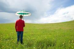构想雨 免版税库存照片