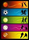 构成体育运动向量 库存例证