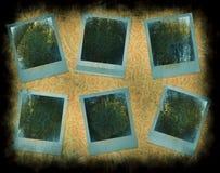 构成即时照片 免版税库存图片