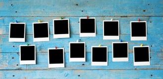 构成即时照片 免版税库存照片