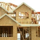 构成家庭房子的详细资料 免版税库存图片