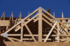 构成家庭新的建筑 图库摄影