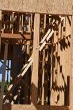 构成家庭新的建筑 库存图片