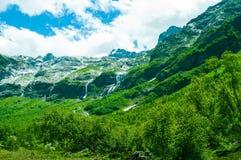 构成山自然范围阳光 免版税库存图片