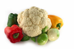 构成新鲜蔬菜 免版税库存照片