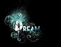 构成梦想 向量例证