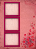 构成照片粉红色 免版税库存照片