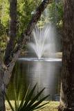 构成的喷泉 免版税库存图片