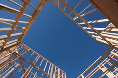 构成的建筑在家 免版税库存图片
