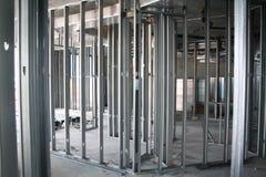 构成的金属螺柱 免版税库存图片