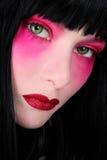 构成粉红色 库存图片