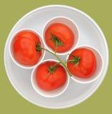 构成美味的蕃茄 免版税图库摄影