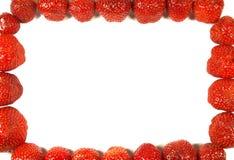 构成草莓 库存图片