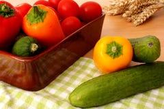 构成蔬菜 库存照片