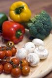 构成蔬菜 免版税库存图片