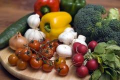 构成蔬菜 免版税库存照片