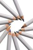 构成铅笔 免版税图库摄影