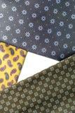 构成领带 免版税图库摄影