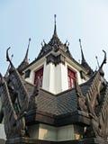 结构泰国传统 库存照片