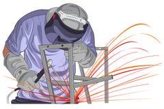 结构焊接 免版税库存照片