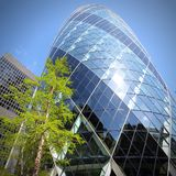 结构现代的伦敦 库存图片