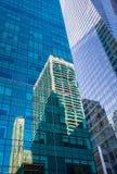 结构现代的曼哈顿 库存图片