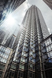 结构现代的曼哈顿 库存照片