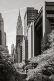 结构现代的曼哈顿 免版税库存图片