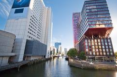 结构现代都市 库存图片