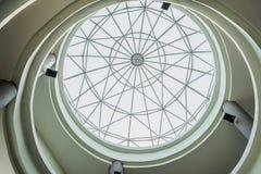 构筑在圆顶屋顶 库存照片