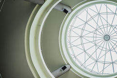 构筑在圆顶屋顶 库存图片