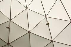 构筑在圆顶结构天花板 免版税库存照片