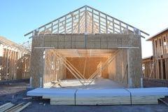 构筑在西南的新的家庭建筑 图库摄影