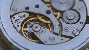 结构老手表 影视素材