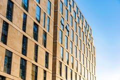 结构英国现代 免版税图库摄影