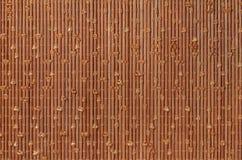 构造与织品编织的竹子 免版税库存照片