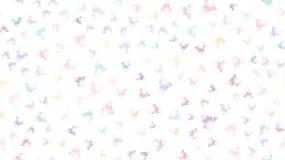 构造样式无缝从快乐的呈虹彩美好的独特的豪华心脏 后面背景传染媒介例证 向量例证