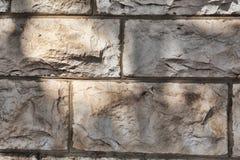构造装饰砖,墙壁瓦片由自然石头制成 免版税库存照片
