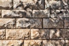 构造装饰砖,墙壁瓦片由自然石头制成 库存图片