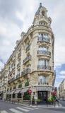 结构巴黎人典型 库存照片