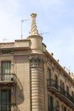 结构巴塞罗那 库存照片