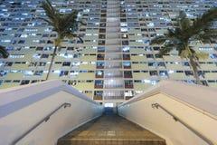 结构建立当代住宅西班牙样式的巴塞罗那 免版税图库摄影
