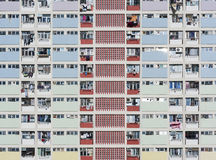 结构建立当代住宅西班牙样式的巴塞罗那 库存照片