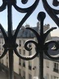 结构巴黎 库存照片