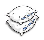 枕头向量 免版税图库摄影