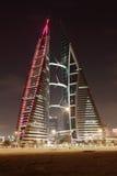 巴林世界贸易中心 免版税库存照片
