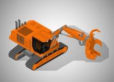 林业机械 库存例证