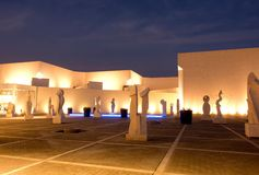 巴林国家博物馆 免版税库存图片